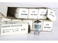 General Electric 5670W - 2C51 Nos Tube