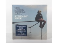 THE DEREK TRUCKS BAND - ALREADY FREE - RARE VINYL LP SEALED