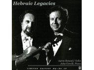 Aaron Rosand, Violin & John Covelli, Piano - Hebraic Legacies - Audiofon Cisco LP
